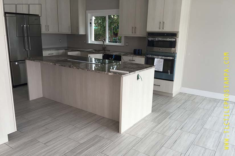 Kitchen Tile Installation By Tlc Pros Tampa